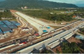 Tol Trans-Sumatra Beroperasi 368 Km, Segini Material yang Dihabiskan
