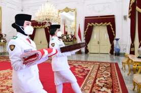 Ini Beda Pengibaran Bendera di Istana Negara pada…