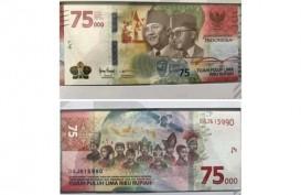 Uang Baru Pecahan Rp75.000 Dirilis, Ini Ciri-Ciri Fisiknya