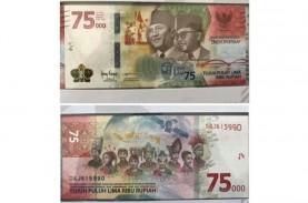 Uang Baru Pecahan Rp75.000 Dirilis, Ini Ciri-Ciri…