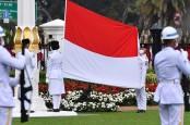 HUT ke-75 RI: Giliran Tim Merauke Bertugas Turunkan Bendera Merah Putih