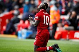 Sadio Mane Pemain Terbaik Liga Inggris Pilihan Penggemar
