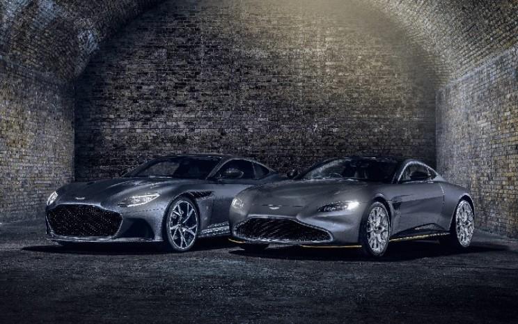 Kolaborasi baru antara Aston Martin dan EON Productions, perusahaan yang memproduksi film James Bond dengan Metro Goldwyn Mayer Studios, menghadirkan edisi 007 baru yang menarik dari Aston Martin Vantage dan DBS Superleggera.  - ASTON MARTIN