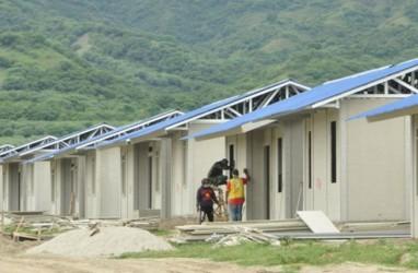 Hunian Tetap Korban Tsunami Palu Hampir Rampung