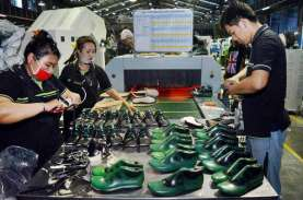 Ekspor Alas Kaki Tumbuh, Utilisasi Pabrikan Masih…