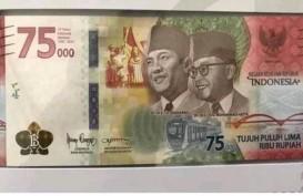 Wah! Uang Baru Pecahan Rp75.000 Dilego di Shopee hingga Jutaan Rupiah
