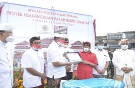 Pembangunan Pasar Umum Rakyat Gianyar Bali Rampung pada November 2020
