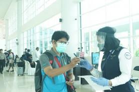 Jelang HUT RI, Penumpang Bandara Internasional Syamsudin…