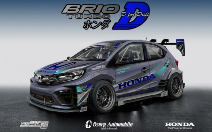 Juara 1 Honda Brio Virtual Modification 3. HPM