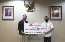 KSP Terima Donasi 100 Ribu Masker Kain untuk Cegah Covid-19