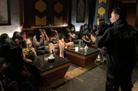 Bareskrim Geledah Vanesia Karaoke BSD, Amankan Puluhan…