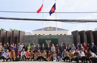 HUT Ke-75 Kemlu RI, KBRI Phnom Penh Tempati Gedung Baru