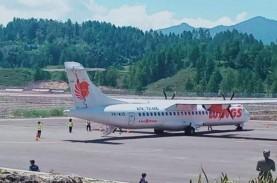Pesawat ATR/72-600 Wings Air Mendarat Mulus di Bandara…