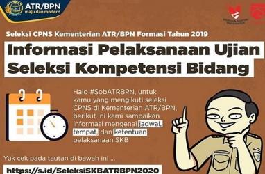 9 Hal Penting dalam Pelaksanaan SKB CPNS 2019 Kementerian ATR/BPN