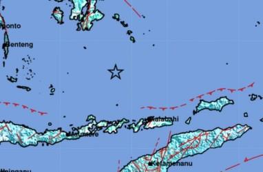 Gempa Susulan di Laut Banda, Magnitudo 5.0 dan Tak Berpotensi Tsunami