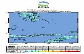 Gempa Bumi di Laut Banda Dirasakan Wakatobi dan Kendari