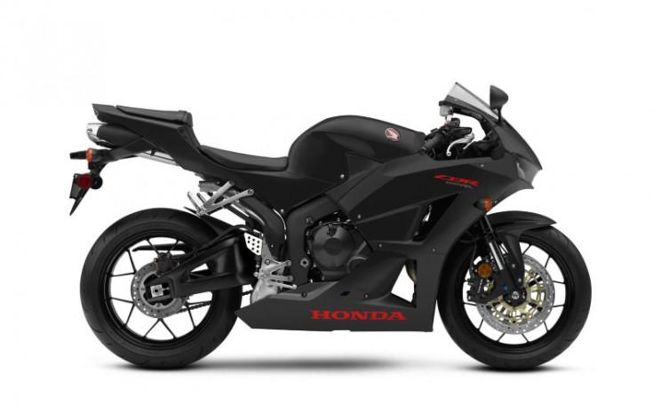 Honda CBR600RR Matte Black Metallic. Honda Motor
