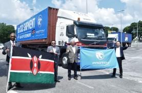 Proton Ekspor Perdana Model Saga ke Kenya