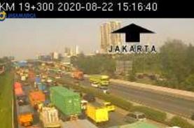 Tol Tangerang Kilometer 21-19 Arah Jakarta Padat,…