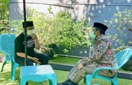 Menkopolhukam Mahfud MD Jenguk Ustaz Yusuf Mansur, Akui Sempat Cemas