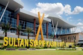 Aktivitas Bandara Sultan Syarif Kasim II Meningkat
