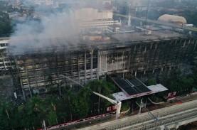 Ruangan Terbakar, Jaksa Agung Berkantor di Badiklat…