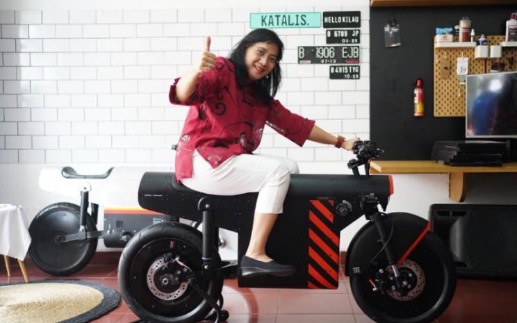 Katalis EV.1000 ini akan dikirim ke galeri The Arsenale di Makau pada akhir Agustus ini.  - Kemenperin