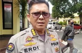Terungkap, Motif Tersangka Lempar Bom Molotov ke Kantor Anak Cabang PDIP di Bogor