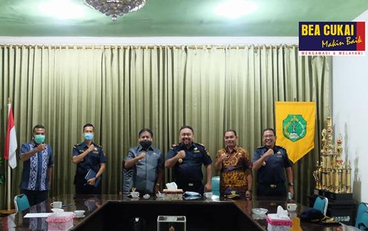 Genjot Ekspor, Bea Cukai Maumere dan Pemerintah Kabupaten Ngada Siap Berkolaborasi