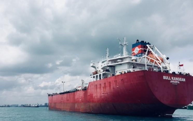 Kapal tanker BULL Kangean, salah satu armada PT Buana Lintas Lautan Tbk.  - bull.co.id