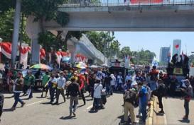 Demo Buruh Berakhir,Jalan Gatot Subroto Masih Ditutup