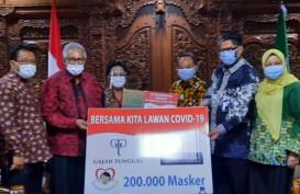 Gajah Tunggal (GJTL) Sumbang 200.000 Masker Ke PP Muhammadiyah