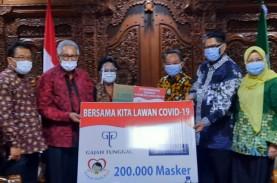 Gajah Tunggal (GJTL) Sumbang 200.000 Masker Ke PP…