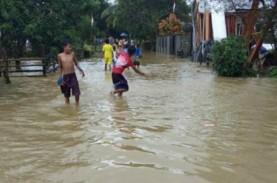 Banjir Landa Pulau Seram, Ratusan Rumah Terendam