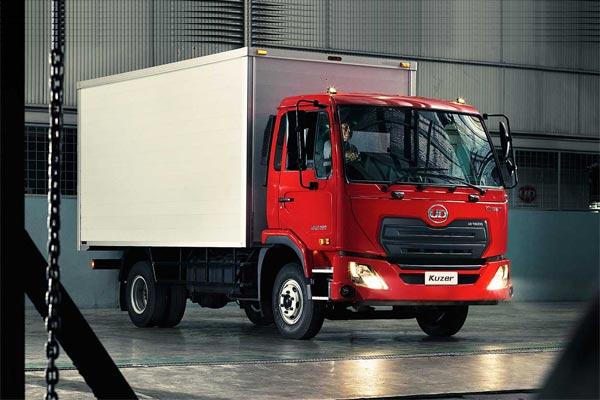 UD Trucks Kuzer.  - UD Trucks