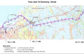 LMAN Cairkan Pendanaan Lahan Jalan Tol Demak-Semarang Rp198 Miliar Besok