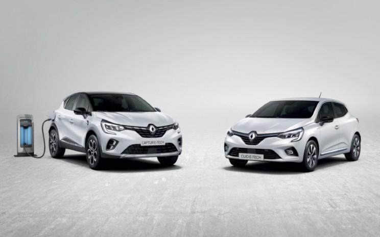 Groupe Renault meningkatkan strategi kendaraan listriknya dengan teknologi hibrida inovatif yang diterapkan pada dua model andalannya : New Clio E-Tech, dan New Captur E-Tech.  - Renault