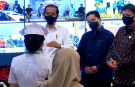 Subsidi Gaji, Jokowi: Apresiasi untuk Pekerja yang Disiplin Bayar Iuran BP Jamsostek