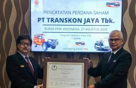 Perdagangan Perdana, Saham Transkon Jaya (TRJA) ARA