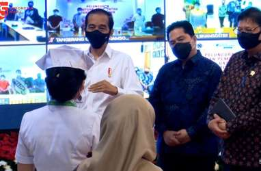 Luncurkan Subsidi Gaji, Jokowi Singgung Soal Vaksin Covid-19