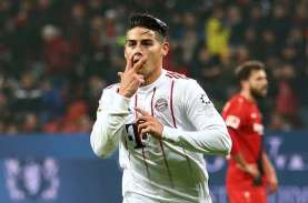 James Rodriguez Segera Teken Kontrak 3 Tahun di Everton