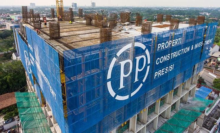 Proyek PT PP Presisi Tbk, anak usaha PT PP (Persero) Tbk. - repro / pp/presisi.co.id