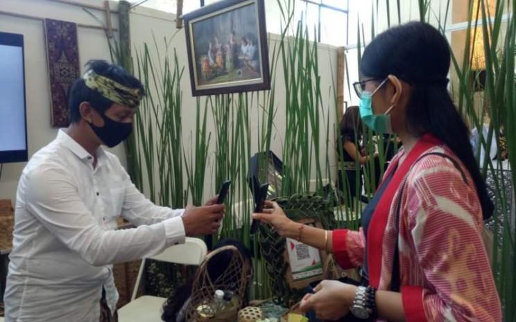 Aktivitas transaksi UMKM di Bali mulai meningkat. Pelaku UMKM juga mulai mencatatkan penaikan omset. - Luh Putu Sugiari
