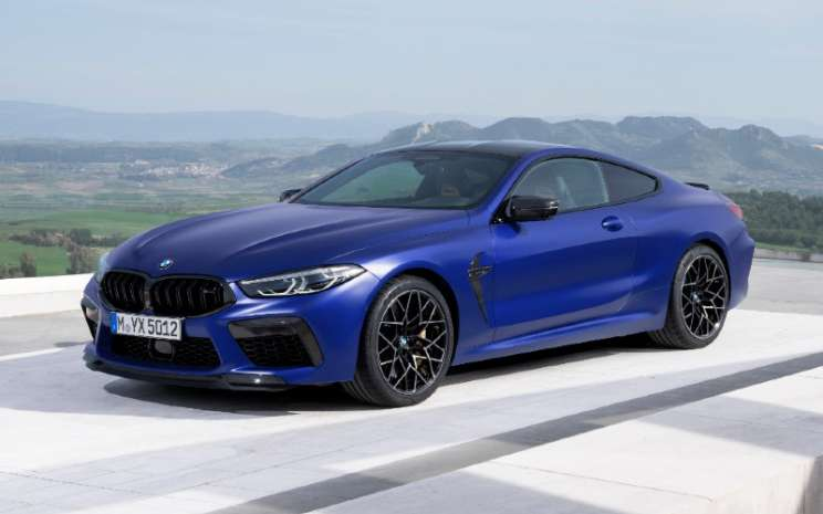 BMW M8 Competition Coupe.  - BMW