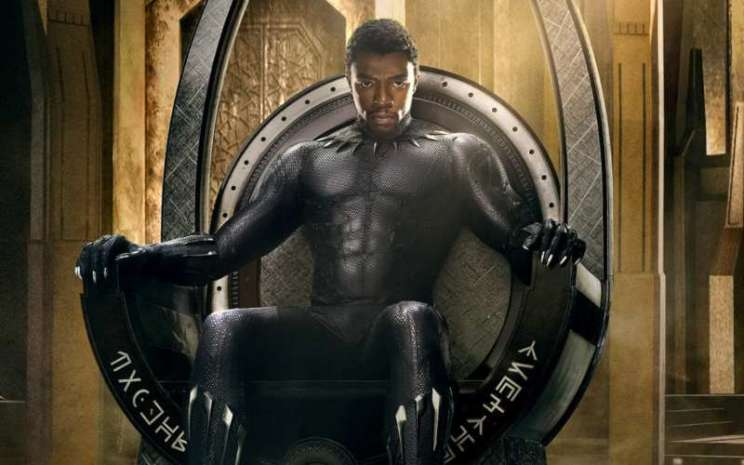 Chadwick Boseman yang menjadi aktor utama di film Black Panther. - istimewa
