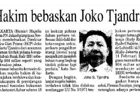 Historia Bisnis: Lega Sementara Djoko Tjandra, Buron…