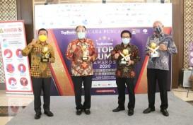 Bank DKI Kantongi Penghargaan Top BUMD Awards 2020