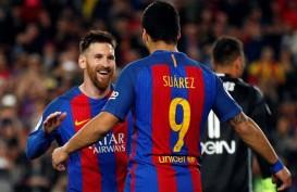 Atletico Madrid Saingi Juventus Rekrut Luis Suarez dari Barcelona