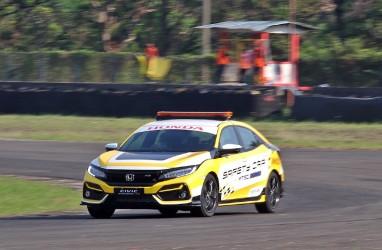 Mobil Official ISSOM 2020, Honda Civic Kawal Peserta Balap