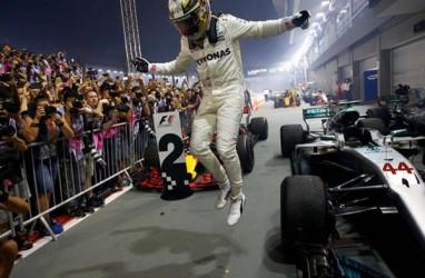 F1 : Lewis Hamilton Juara di GP Belgia, Intai Rekor Schumacher